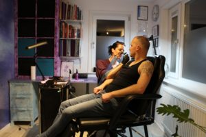Mim Roest tattoo bij Purple Ink